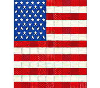 Stars and Stripes Quilt in Indianapolis IN, Steve's Flowers and Gifts