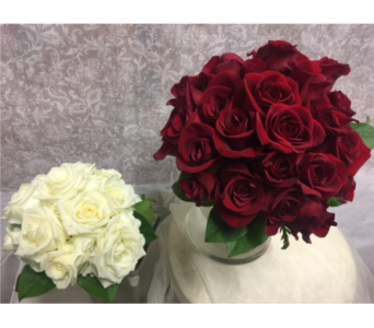Bridal Bouquet<br>(as shown on right) in Southampton PA, Domenic Graziano Flowers