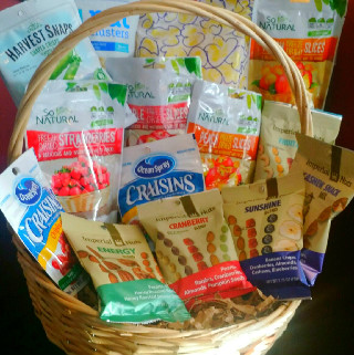 Healthy Snack Basket in Round Rock TX, Heart & Home Flowers