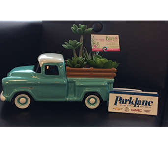 Chevy Truck Succulent Garden in Corunna ON, KAY'S Petals & Plants