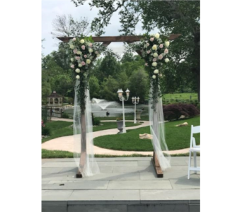 Arch Decorations in Southampton PA, Domenic Graziano Flowers