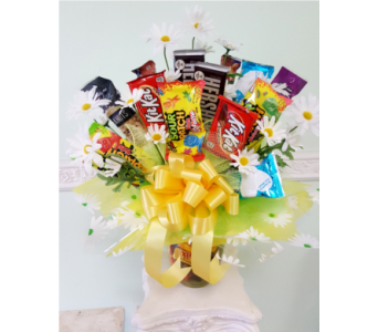 Crazy Daisy Candy Bouquet in Oviedo FL, Oviedo Florist