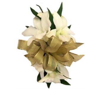 White Orchid Corsage in Stuart FL, Harbour Bay Florist