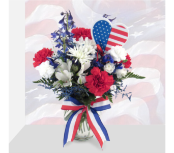 Let's Love America in Southfield MI, Thrifty Florist