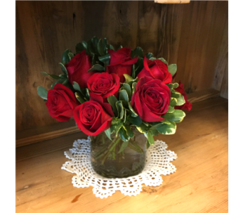 Red Roses Arranged in Mount Kisco NY, Hollywood Flower Shop