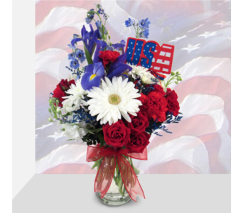 Proud of the USA in Southfield MI, Thrifty Florist