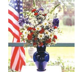 Patriotic Beauty in Santa Monica CA, Edelweiss Flower Boutique