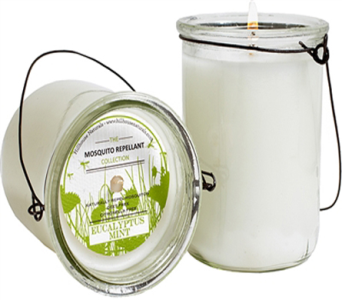Eucalyptus Mint Hanging Mosquito Repellent Candle in Detroit and St. Clair Shores MI, Conner Park Florist