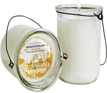 Marigold Hanging Mosquito Repellent Candle in Detroit and St. Clair Shores MI, Conner Park Florist