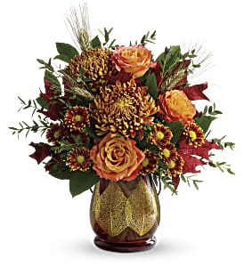 Teleflora's Fields Of Amber Bouquet in San Jose CA, Amy's Flowers