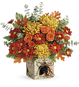 Teleflora's Wild Autumn Bouquet in Madison WI, George's Flowers, Inc.