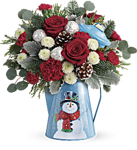 Teleflora's Frosty Enchantment Bouquet in Park Ridge IL, High Style Flowers