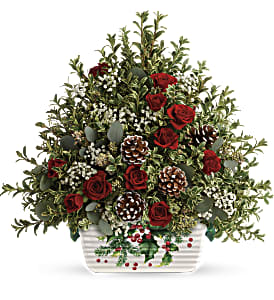 Teleflora's Warmest Winter Tree in Ponte Vedra Beach FL, The Floral Emporium