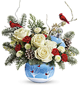 Teleflora's Winter Flock Bouquet in Ponte Vedra Beach FL, The Floral Emporium