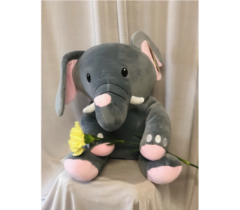 Elephant Plush in Elyria OH, Botamer Florist & More