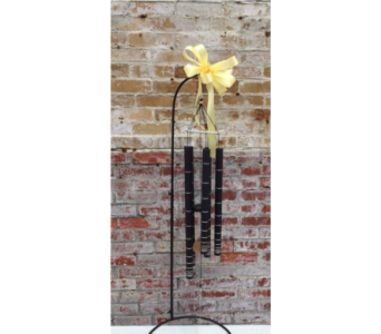 Black Shimmer Wind Chime in Auburn IN, The Sprinkling Can