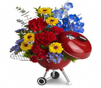 WEBER� King of the Grill by Teleflora in New Port Richey FL, Holiday Florist
