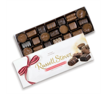 Russell Stover Nut, Chewy & Crisp Assortment in St. Petersburg FL, The Flower Centre of St. Petersburg