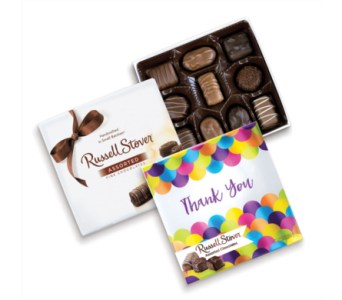 Russell Stover Assorted Chocolates Thank You Box in St. Petersburg FL, The Flower Centre of St. Petersburg
