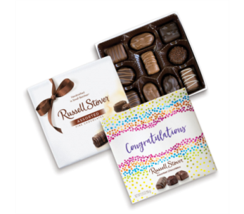 Russell Stover Assorted Chocolates Congrats Box in St. Petersburg FL, The Flower Centre of St. Petersburg
