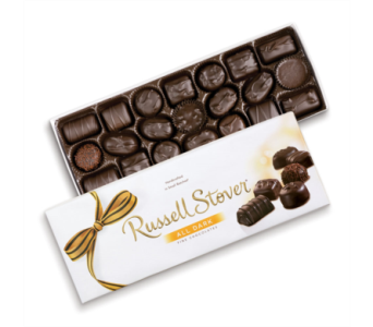 Russel Stover Dark Chocolate Assortment in St. Petersburg FL, The Flower Centre of St. Petersburg