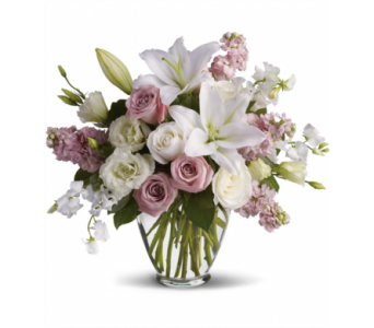 Romantic Lily Bouquet in Victoria BC, Fine Floral Designs