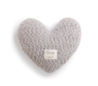 Taupe Giving Heart in Fort Worth TX, Greenwood Florist & Gifts