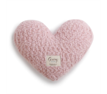 Pink Giving Heart in Fort Worth TX, Greenwood Florist & Gifts
