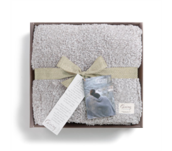 Taupe Giving Blanket in Fort Worth TX, Greenwood Florist & Gifts