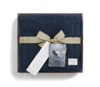 Navy Giving Blanket in Fort Worth TX, Greenwood Florist & Gifts