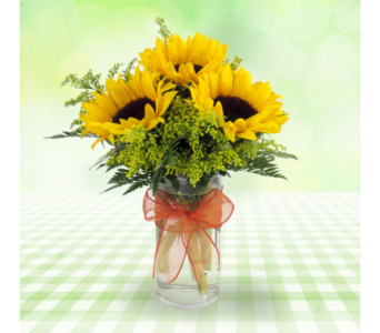 Sunny Smiles Bouquet in Southfield MI, Thrifty Florist