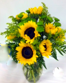 Sunflowers & More Reg 49.99 Now in Round Rock TX, Heart & Home Flowers