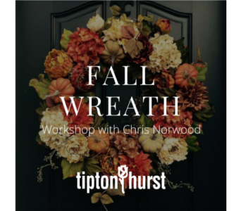 Fall Wreath Workshop: October 6 from 2-4 pm in Little Rock AR, Tipton & Hurst, Inc.
