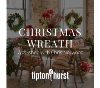 Christmas Wreath Workshop: November 17 from 2-4 pm in Little Rock AR, Tipton & Hurst, Inc.