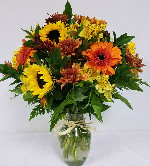 Jamie Fall Special in Round Rock TX, Heart & Home Flowers
