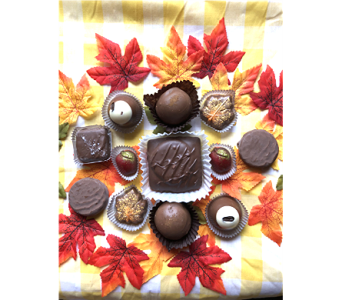 Fall Chocolate Assortment in Greenville SC, Expressions Unlimited