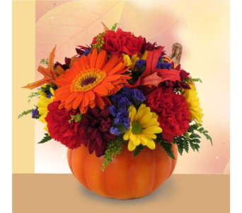 Pumpkin Patch Bouquet in Southfield MI, Thrifty Florist