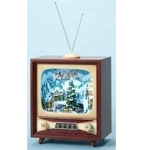 RAZ LARGE ANIMATED MUSICAL TV ROTATING TREE in Jupiter FL, Anna Flowers