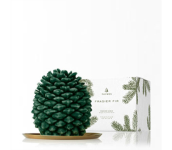 Frasier Fir Pinecone Candle in Detroit and St. Clair Shores MI, Conner Park Florist