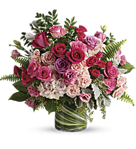 Haute Pink Bouquet in Richmond BC, Touch of Flowers