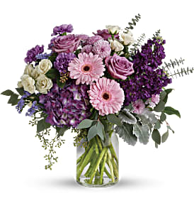 Magnificent Mauves Bouquet in Alliston, New Tecumseth ON, Bern's Flowers & Gifts