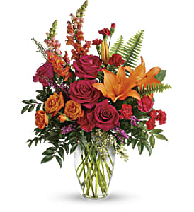 Punch Of Color Bouquet in Alliston, New Tecumseth ON, Bern's Flowers & Gifts