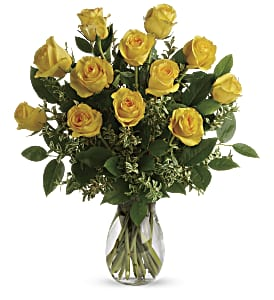 Say Yellow Bouquet in Alliston, New Tecumseth ON, Bern's Flowers & Gifts