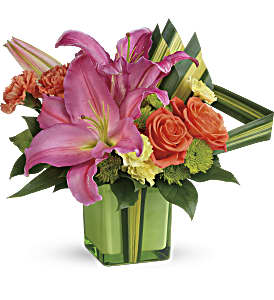 Teleflora's Color Me Cute Bouquet in Los Angeles CA, RTI Tech Lab