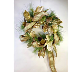 Custom Silk Wreath in Little Rock AR, Tipton & Hurst, Inc.