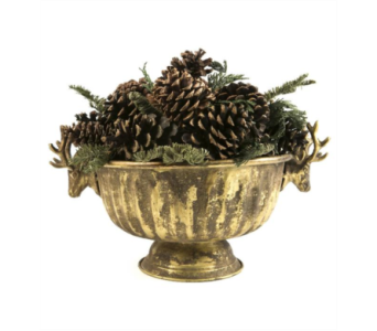 Lux Noble Fir - Pine Cone Centerpiece in Little Rock AR, Tipton & Hurst, Inc.