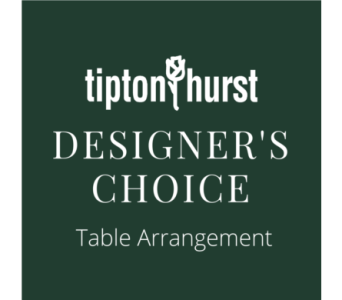 Designer's Choice Table Arrangement in Little Rock AR, Tipton & Hurst, Inc.
