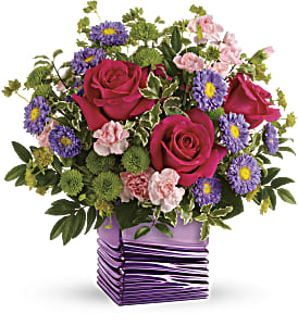 Teleflora's Lavender Waves Bouquet in Los Angeles CA, RTI Tech Lab