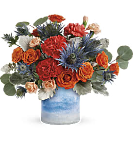 Teleflora's Standout Chic Bouquet in Los Angeles CA, RTI Tech Lab