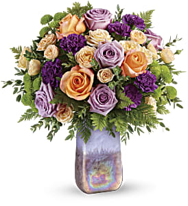 Teleflora's Amethyst Sunrise Bouquet in Los Angeles CA, RTI Tech Lab